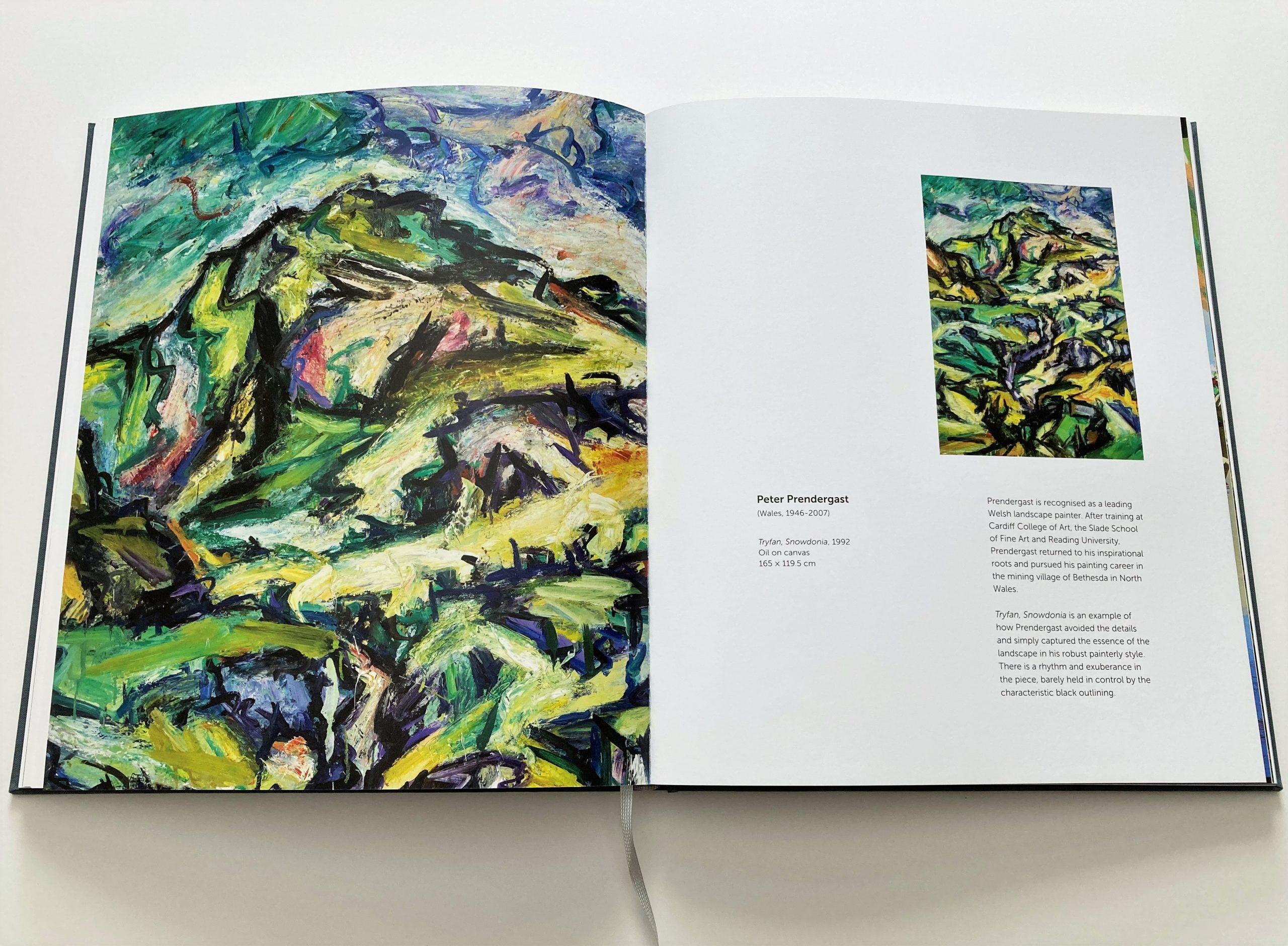 Peter Prendergast artist catalogue page