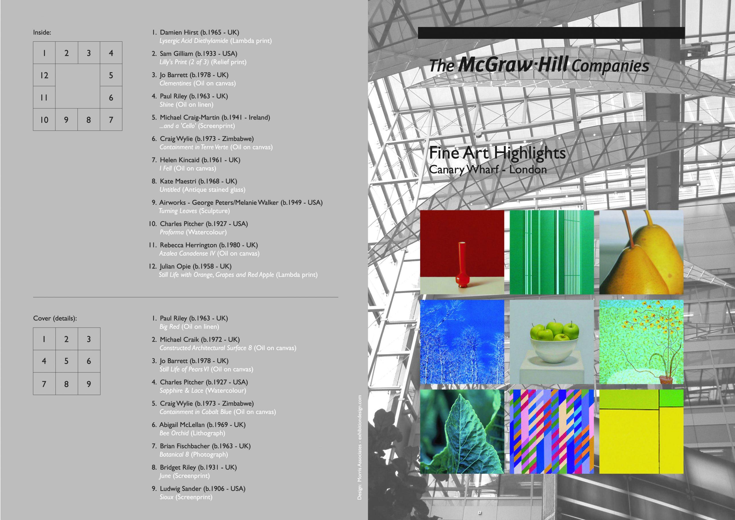 McGraw-Hill Invitation and Art Brochure