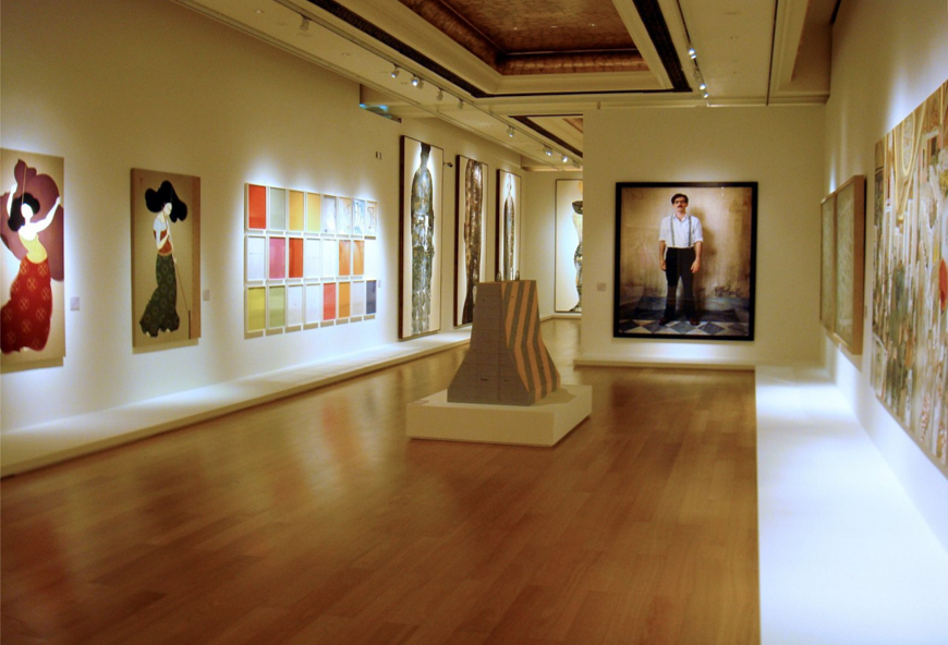 Exhibition in Abu Dhabi
