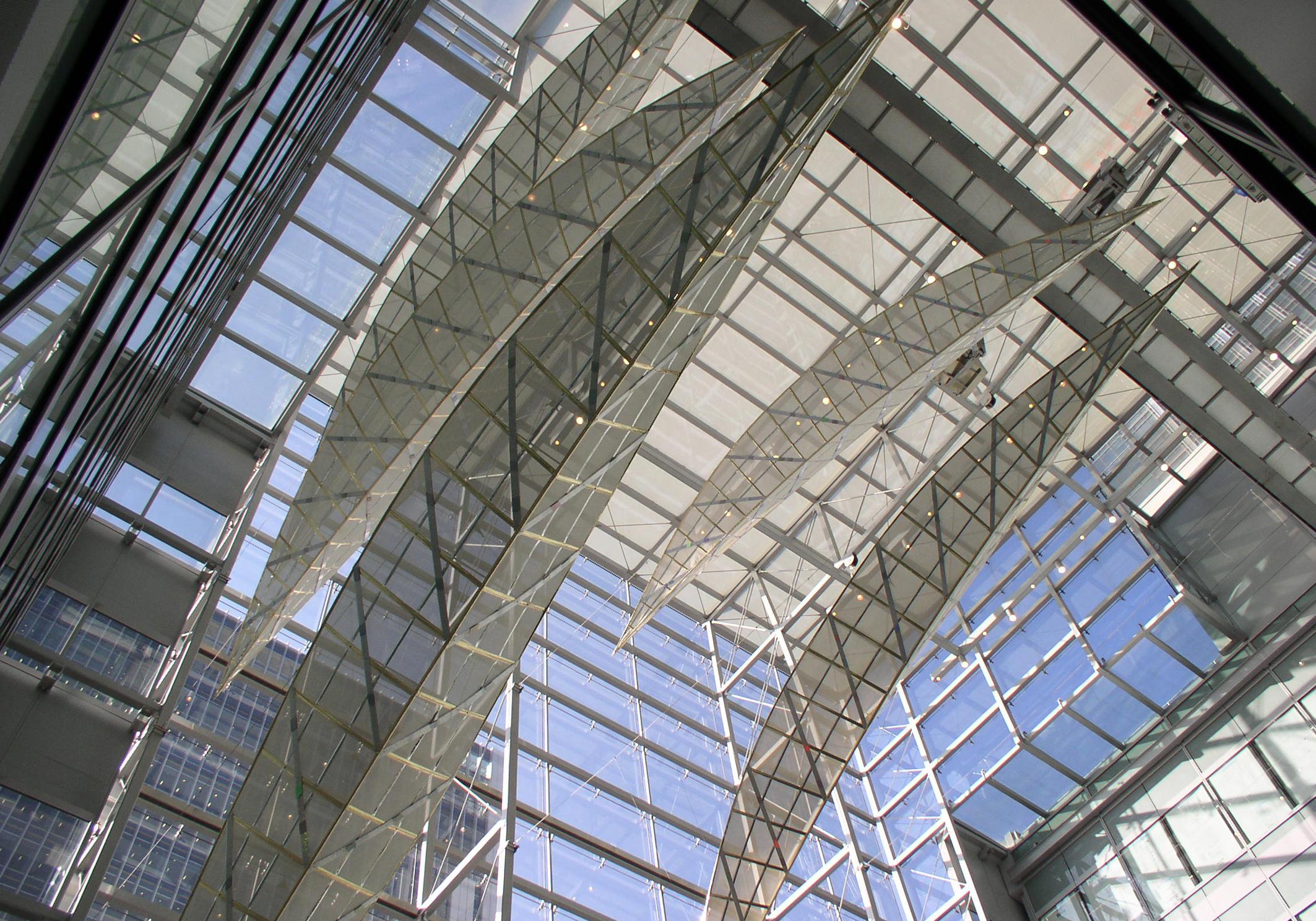 McGraw-Hill Atrium Art Canary Wharf